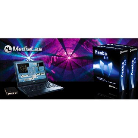 Программа для создания лазерного шоу medialas mamba 2.0